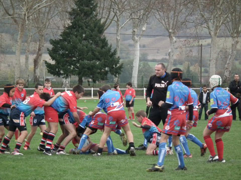 RCS XV vs Sor Agout dec 2012