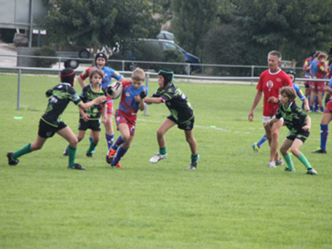 MATCH AMICAL USM/CASTESSARASIN/RCS XV 28/09/2013 U13